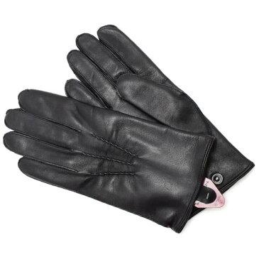 デンツ DENTS 革手袋 グローブ メンズ レディース ユニセックス レザー BLACK Lサイズ