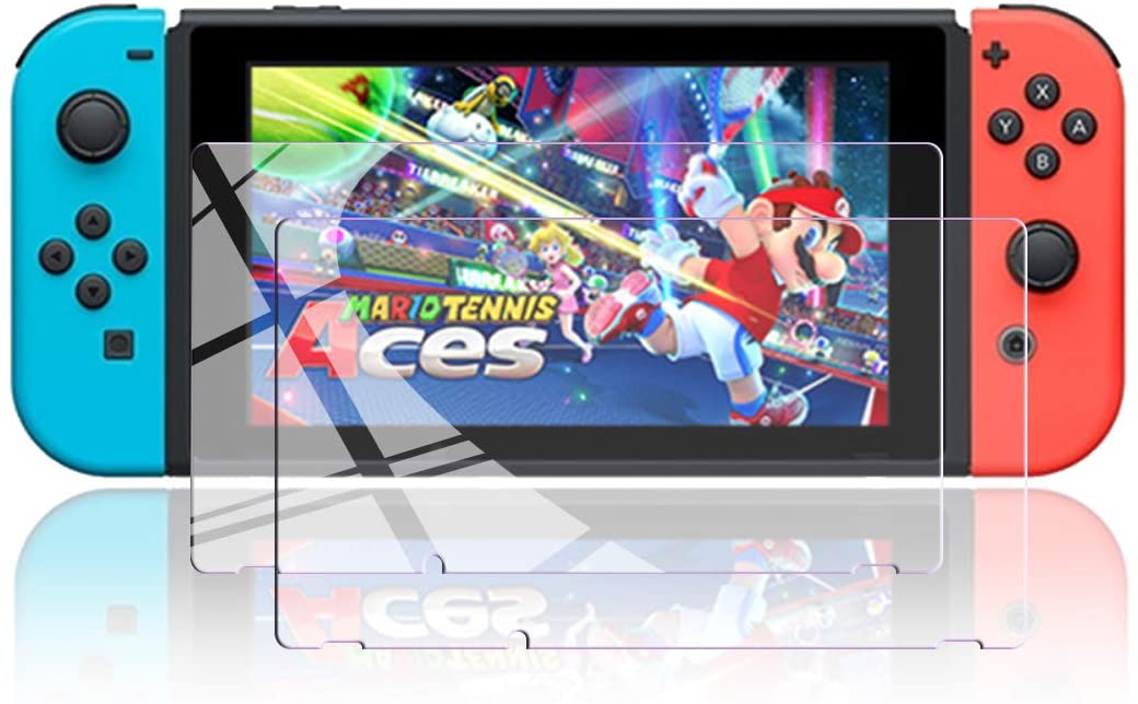 『NintendoSwitchブルーライト強化ガラスフィルム』