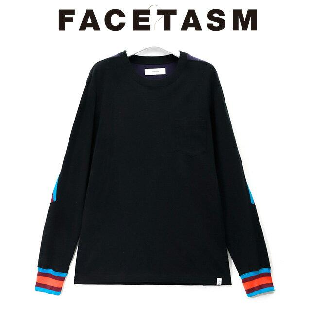 トップス, Tシャツ・カットソー FACETASM RIB LONG TEE T 2019 15:00