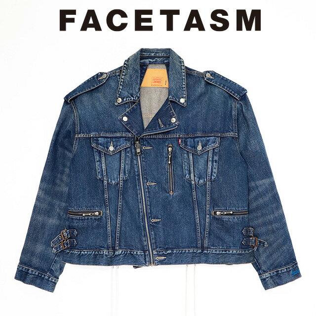 メンズファッション, コート・ジャケット  FACETASM BIKERS TRUCKER G 2020 15:00