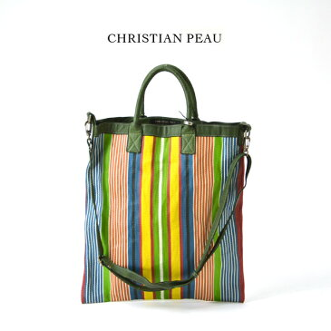 クリスチャン ポー ショルダーネットバッグ グリーン レディース CHRISTIAN PEAU BD SHOULDER NET BAG GREEN レザー 【正規取扱店】【送料無料】 プレゼント ギフト