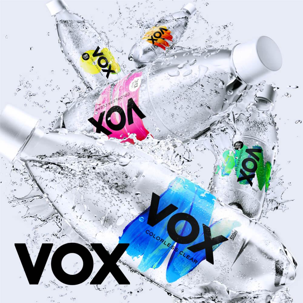 【365日出荷】VOX強炭酸水500ml×24本送料無料世界最高レベルの炭酸充填量5.0軟水日本の天然水スパークリングウォーター選べる5種類(ストレート・シリカ・ミントフレーバー・レモンフレーバー・コーラフレーバー)