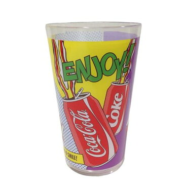 コカコーラ プラスチック タンブラー 食器 【POP ART】 Coca-Cola アメリカン雑貨 コカ・コーラ パーティ コーラ グッズ アメリカ 雑貨