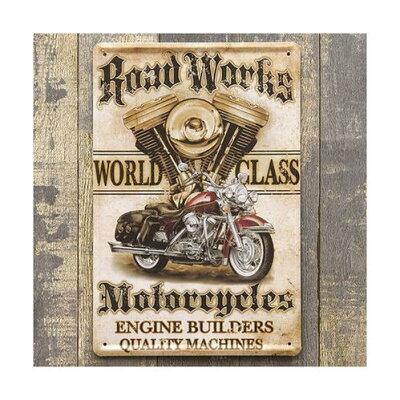 ハーレー バイク メタル プレート ミニサイズ 看板 世田谷ベース アメリカン雑貨 ハーレーダビッドソン グッズ