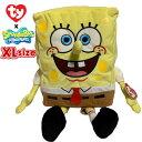 スポンジボブ ty XLサイズ マスコット ぬいぐるみ プラッシュ SpongeBob グッズ かわ ...