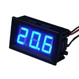 デジタルLED温度計 青色 電子工作