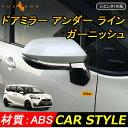 トヨタ SIENTA シエンタ170系 ABSメッキ ドアミラー アンダー...