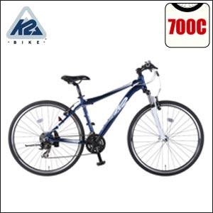 K2(ケーツー) クロスバイク 自転車 ESCAPE 1.0 アルミフレーム 21段変速 【0720otoku-f】 アウ...