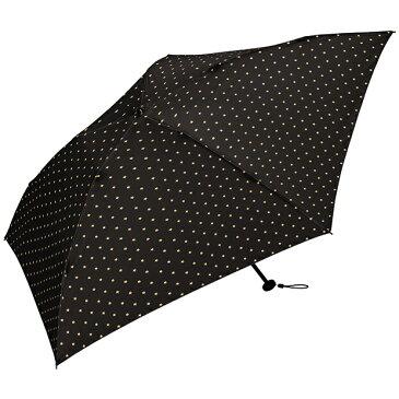 キウ(KiU) 折りたたみ傘 手開き 日傘/晴雨兼用傘 エアライト ラージ60 アンブレラ 全5色 ドット スター 5本骨 60cm UVカット 80%以上 軽量