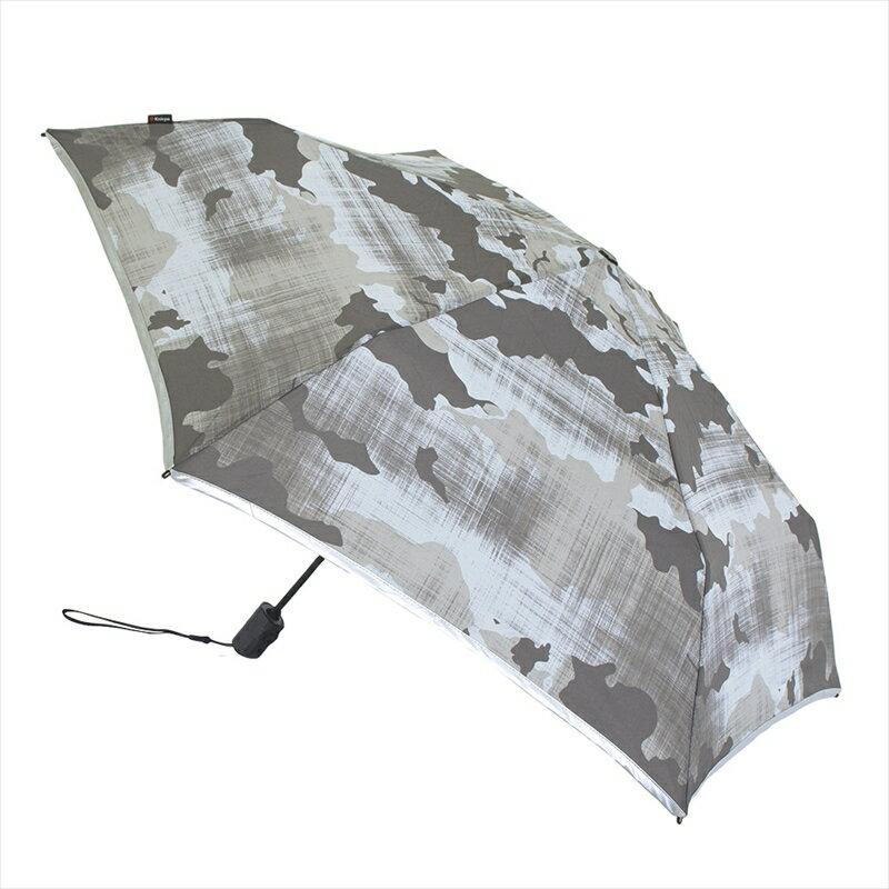 6c1fce10af43 ... クニルプス フラット デュオマティック 全3柄 折りたたみ傘 自動開閉 ヘルシンキ 6本骨 53cm