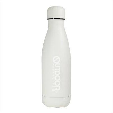 アウトドアプロダクツ ステンレス ボトル 保温保冷 水筒(直飲み) オフ ホワイト 400ml