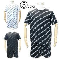 サンタフェ半袖Tシャツショートパンツ上下セット48/50/52サイズ8116481165スエットスウェットハーフパンツ夏サマーバイアスプリント