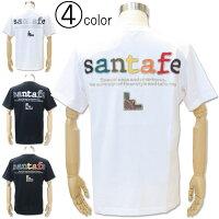 サンタフェバックアップリケ半袖Tシャツ81162santafeカットソー