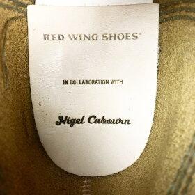 REDWING×NigelCabourn/MUNSONB-5CHUKKAナイジェルケーボンレッドウィング