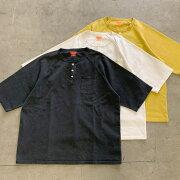 "ONEITA/HENLEYNECKT-SHIRT""PIGMENT""(オニータヘンリーネックTシャツ)"