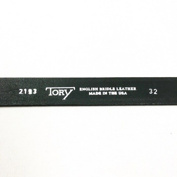 "TORY LEATHER / made in U.S.A BEATIFUL 1""SNAFFLE BIT BELT (トリ—レザー ブライドル ビット ウエスタンベルト)"