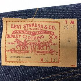 """DEADSTOCK""Levi's50166後期W34/L34(リーバイスVintage)アメリカ直輸入"