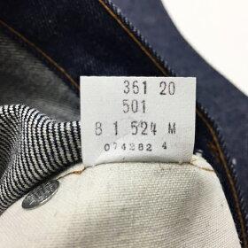 """DEADSTOCK""Levi's501赤耳W34/L32(リーバイスVintage)アメリカ直輸入"