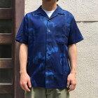 BLUEBLUEJAPANブルーブルーKobushiS/SIndigoLyocellAlohaShirts