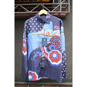 POLO RALPH LAUREN / OLYMPIC USA L/S SHIRT (Polo Ralph Lauren Team USA Olympic Games Shirt)