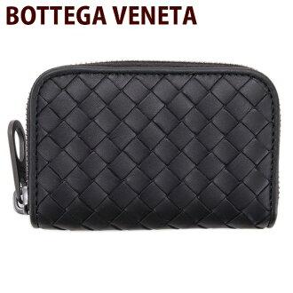 Bottega Veneta (Bottega Veneta) BOTTEGA VENETA coin purse coin purse zip calf leather black (black)-114075 V 4651 1000 NERO