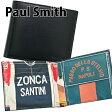 送料無料 新品 ポールスミス Paul Smith 財布 二つ折り財布 メンズ サイクルジャージ ブラック×サイクルジャージプリント ARXC 4833 W778 B 正規品/ボーナス お中元 セール 2017/ブランド品