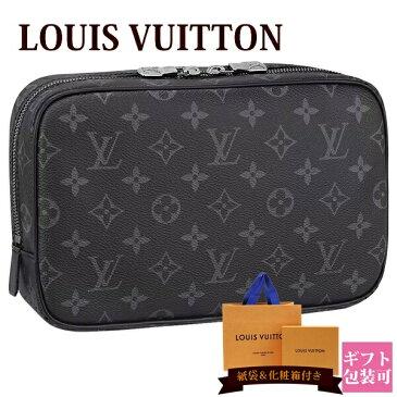 ルイヴィトン バッグ 鞄 かばん LOUIS VUITTON 新品 メンズ トラベルポーチ トゥルース・トワレ GM モノグラム・エクリプス M43383 バレンタイン ホワイトデー ギフト