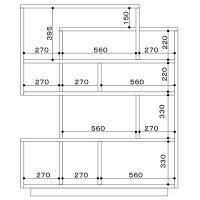 シェルフオープンシェルフフリーシェルフ木製飾り棚コレクションケースコレクションボードディスプレイ本棚書棚日本製ウォールナットオーク【送料無料】Soloフリーシェルフ120《受注生産品》