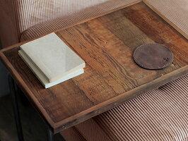 ソファサイドテーブルサイドテーブルおしゃれベッドサイドテーブル古材木製北欧アイアンナイトテーブル木製コーヒーテーブルカフェテーブル木製おしゃれナチュラル花台台【送料無料】CHAYサイドテーブル