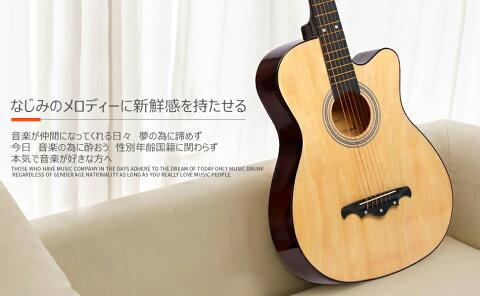 ギター 初心者 アコギ 楽器 入門 アコースティック クラシックギター どこへでも気軽に持ち運べ