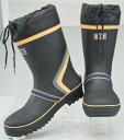 長靴 安全靴 作業靴 天然ゴム長靴 安全ショートブーツ おたふく手袋JW-736 おたふく手袋 お取寄せ