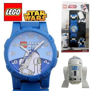 LEGO WATCH STARWARS R2-D2のフィギア付きレゴ ウォッチ スターウォーズ R2-D2 アナログ メンズ...
