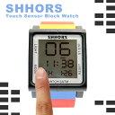 SHHORS TOUCH タッチウォッチ 腕時計 メンズ Touch Sensor Block Watch タッチセンサーブロックウォッチ【5,400円以上お買い上げで送料無料】