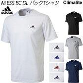 メンズ 半袖 ドライシャツ アディダス adidas ドライシャツ ウェア 無地 ワンポイント/ABN57