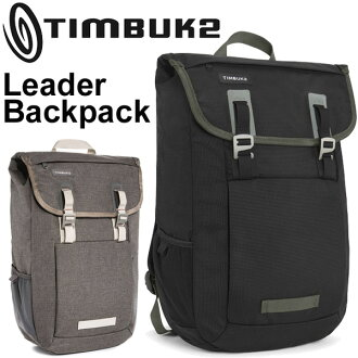 背包TIMBUK2 timbakku 2 Leader Backpack領導人背包正規的物品帆布背包包自行車通勤包Bag日包/Leader