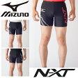 レーシングタイツ ミズノ mizuno メンズ ショートタイツ ランニング スパッツ マラソン ジョギング 陸上競技 試合 大会 トレーニング 男性 スポーツウェア MIZUNO N-XT レーシングウェア/U2MB7025