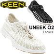 KEEN サンダル レディース UNEEK O2 ユニーク アウトドアシューズ オープンエアスニーカー 水陸両用 レジャー アクティビティ タウンユース 女性用 靴 keen 正規品 1017055 1017059/UneekO2W