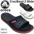 サンダル メンズ レディース クロックバンド 2 スライド /クロックス crocs crocband 2.0 slide スポーティ 正規品 リラックス レジャー 室内履き 靴/204108