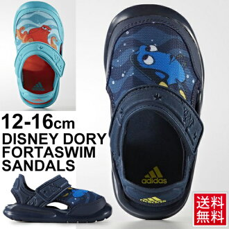 涼鞋嬰兒小孩鞋愛迪達adidas迪士尼人物涼鞋移動攝影機漢克12.0-16.0cm小孩鞋嬰兒鞋一壘鞋發現移動攝影機BA9333 BA9334 Disney BABY NEMO/FortaSwim