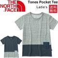 ザ・ノースフェイスTHENORTHFACE/レディースショートスリーブツートーンポケットTシャツ/NTW31738