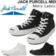 コンバース converse/JACK PURCELL ジャックパーセル MID/メンズ レディース スニーカー ミッドカット 定番 カジュアルシューズ ブラック ホワイト /JP-MID