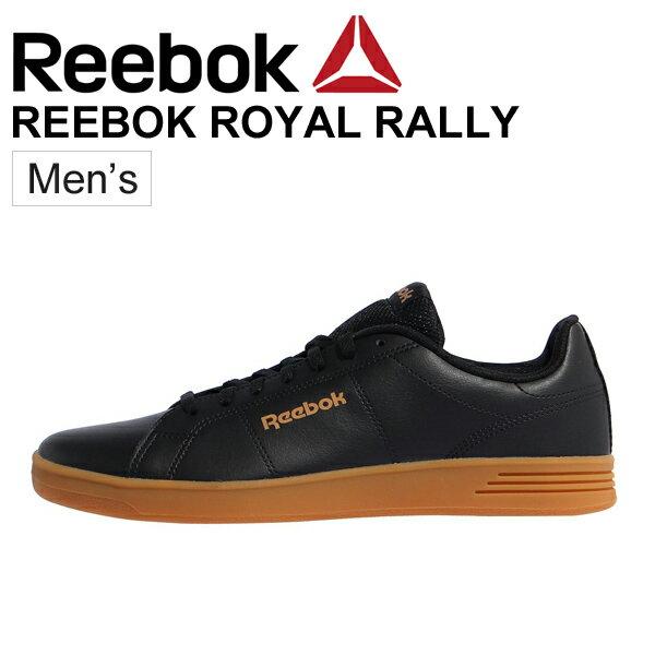 スニーカー メンズ シューズ Reebok リーボック CLASSIC ROYAL RALLY コートスタイル ローカット 2E相当 男性 シンプル ブラック DV4188 カジュアルシューズ 靴/RoyalRally
