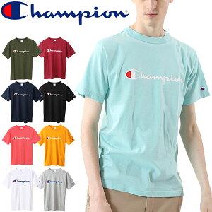 Tシャツ 半袖 メンズ チャンピオン Champion ベーシック TEE/丸首 ロゴT スポーツ カジュアル シンプル 男性 紳士服 半袖シャツ トップス/C3-P302