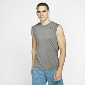ノースリーブシャツ メンズ/ ナイキ NIKE ドライフィット レジェンド Tシャツ 男性用 袖なし スポーツ トレーニング ジム ランニング ジョギング 運動/718836-063