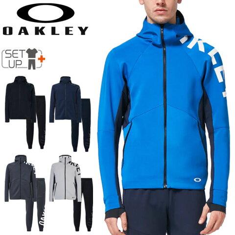 ジャージ 上下セット メンズ オークリー OAKLEY Enhance 3RDG Synchronism JKT 4.0 Pants SET ジャケット パンツ 上下組/スポーツウェア トレーニング セットアップ 男性 ジム 自宅トレ/FOA402280-FOA402203