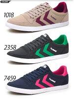 メンズスニーカーシューズ靴/ヒュンメルHummel/SLIMMERSTADIL/HM64033