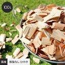 【最大400円OFFクーポン】【国産木材使用】 ウッドチップ 100L (樹皮無し ひのき)__wc-c-100
