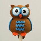 【AntennaBall】アンテナボール (ブルー オウル)アンテナトッパー Antennatopper フクロウ 動物 アニマル【Blue Owl】【ポイント】05P03Dec16