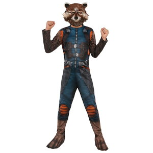 【ポイント】【あす楽】【ロケット・ラクーン コスチューム キッズサイズ】Guardians of the Galaxy Vol. 2 Rocket Costume(Kids) 子供 男の子 男子 コスプレ 仮装 衣装 ガーディアンズ オブ ギャラクシー マーベル 全身 映画 キャラクター あらいぐま ルービーズ Rubie's