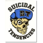 SUICIDAL TENDENCIES Flip cap Sticker/スーサイダルテンデンシーズ ステッカー/キャップ柄/【ポイント】05P03Dec16